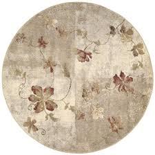 round area rugs com nourison somerset st64 multicolor round area rug 5
