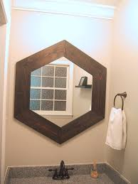 wood mirror frame. Hex_mirror_finished Wood Mirror Frame