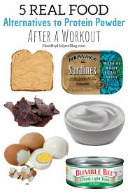 5 real food alternatives to protein