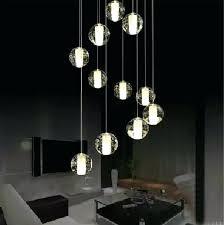 stairwell pendant lights modern led crystal pendant lamp multi light linear pendant light modern multi light stairwell pendant lights
