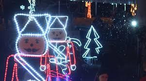 christmas lighting at ballard park