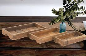 trays wood tray rustic wooden trays wooden serving trays wood wood serving trays set of 3 wood serving tray