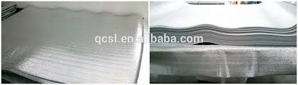 Thermal Insulation Laminate Flooring Underlay Aluminum Foil Epe Foam