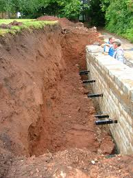 Brick Retaining Wall Design Example Causes Of Retaining Wall Failure Or Collapse Metropolitan