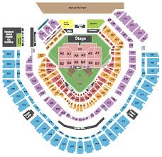 Petco Park Detailed Seating Chart Green Day Petco Park Tickets Hella Mega Tour 2020