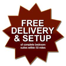Furnture Free Delivery Setup