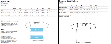 Rush Order Tees Size Chart Fangamer Gift Cards