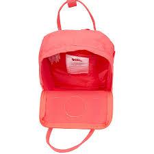 fjallraven kanken kids vinylon backpack peach pink