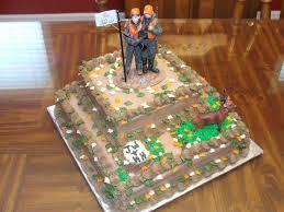Deer Hunting Theme Grooms Cake Cakecentralcom