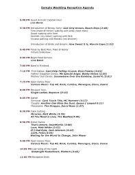 Church Wedding Program Template Wedding Reception Program Sample