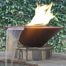 grand effects fbsconfwess2 automated two bowl 31in essex concrete fire and water bowls fire water bowls0