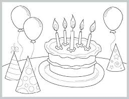 Celebrating Birthday Party Coloring Pages Hat Construction