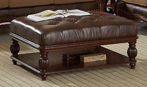 storage ottoman coffee table. Full Size Of Coffee Table:round Brown Leather Ottoman Large Storage Fabric Table 0