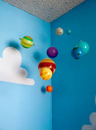 Solar System Bedroom Decor How To Paint Toy Story Clouds Living Lullaby Designs