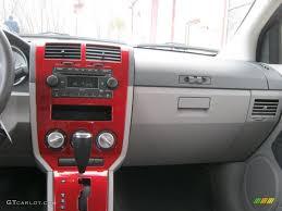 2007 Dodge Caliber SXT Pastel Slate Gray/Red Dashboard Photo ...