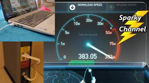 cat 7 ethernet cable vs wireless sd test with 300 mbps service