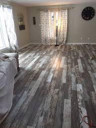 was going to go for the safe look and choose a distressed grey color but saw the barn wood option and thought we d take a chance wowzers does it