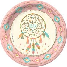 Dream Catcher Party Plates Inspiration Sweetest Dreams Dinner Plates Party Pinning Pinterest Birthday