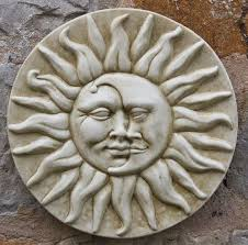 have a look at this sun and moon wall plaque page from the sun moon wall plaques department at marble inspiration on sun moon garden wall art with have a look at this sun and moon wall plaque page from the sun