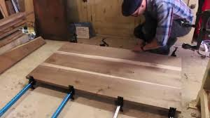 Building A Walnut Dining Table Patrick Hosey YouTube - Walnut dining room furniture