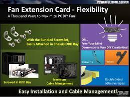 fan extension card. 18. confidential fan extension card l