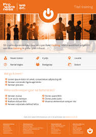 flyers prowareness nl template