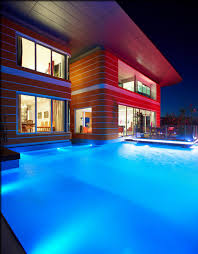 swimming pool lighting options. Pool Lighting Design. Great Outdoor At Lights Ideas Swimming Design Photo Brightly Illuminated Options E