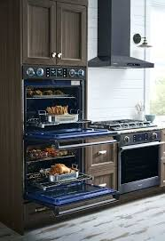 dual fuel wall oven lifestyle view dual fuel double wall oven