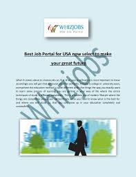 Best Job Portal In Usa Find New It Jobs Vacancies Available In Usa Whizjobs Com