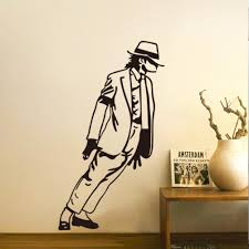 Small Picture Mj New Design Vinyl Wall Stickers Michael Jackson Home Decoration