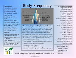 Young Living Essential Oils Frequency Chart Pin On Yl Oils
