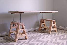 ana white build a adjule height wood and metal stool free and easy diy project and furniture plans