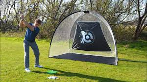 Super Size Golf Driving Net by Links Choice - YouTube