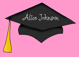 Graduation Thank You Note Pink Graduation Thank You Note By Clara Lane
