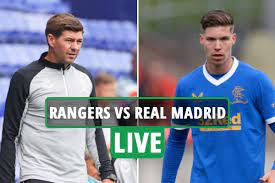 Rangers 2 Real Madrid 1 LIVE REACTION ...