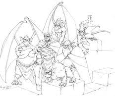 Coloring page inspired by the famous cinderella castle, the iconic symbol of the walt disney company, and of disney theme parks. 20 Disneys Gargoyles Ideas Gargoyles Gargoyles Disney Gargoyles Cartoon