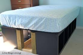 ikea storage bed hack. Beautiful Hack Full Platform Bed Ikea Storage Hack B  Twin Inside Ikea Storage Bed Hack A