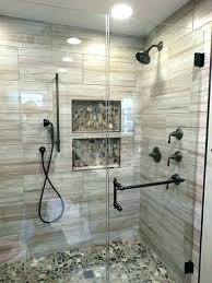 river rock tile shower river rock shower river rock bathroom floor the best river rock bathroom