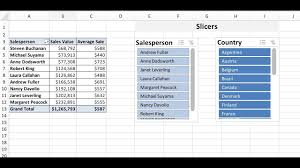 Pivot Table Chart Excel 2016 Excel 2016 Pivot Tables Slicers And Charts A Comprehensive Discussion And Tutorial