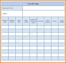 Employee Payroll Template 24 Employee Payroll Ledger Template Samples Of Paystubs 11