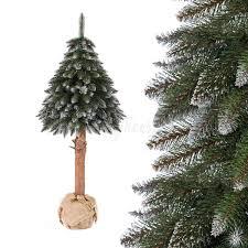 Details About Jumbo Shop Künstlicher Weihnachtsbaum Topf Fichte Naturstamm Beschneit