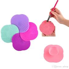 makeup brush cleaning mat washing tools hand tool pad er scrubber board washing cosmetic brush cleaner tool whole 2805010 elf cosmetic elf makeup