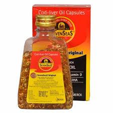 sevenseas original cod liver oil capsules 500 capsules