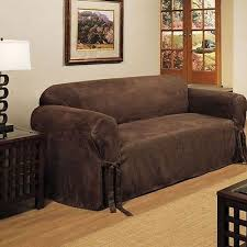 Cool couch covers Blanket Slipcover Sofa Loveseat Chair Furniture Cover Brown Black Taupe Micro Suede Asodisprocom Cool Couch Covers Collection On Ebay