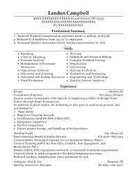 Kroger Resume Examples Kroger Compliance Engineer Resume Sample Grand Prairie Texas