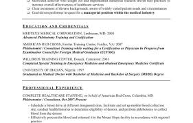 Free Phlebotomist Resume Templates Formidable Phlebotomist Resume Examples Entry Level Sample No 24