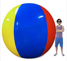 beach ball on beach. I\u0027m Not Exactly Sure Why You\u0027d Want A 12-foot Tall Beach Ball, But According To The Reviews On Amazon People Are Willing Dish Out Nearly $100 For Ball