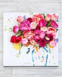 3 d floral canvas wall art pinterest martha stewart real life and display on 3d flower wall canvas art with 3 d floral canvas wall art pinterest martha stewart real life