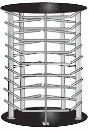 Revolving Display Stands Acrylic Rotating Hook Display 100 Hooks Acrylic Jewelry 34