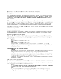 Related For 11+ personal branding statement resume examples